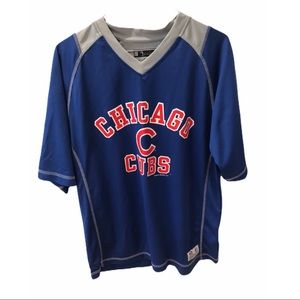 MLB Chicago Cubs Dri Fit Blue Shirt Athletic M